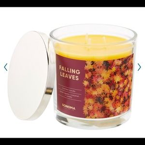 Sonoma Goods For Life 'Falling Leaves' 14oz Candle